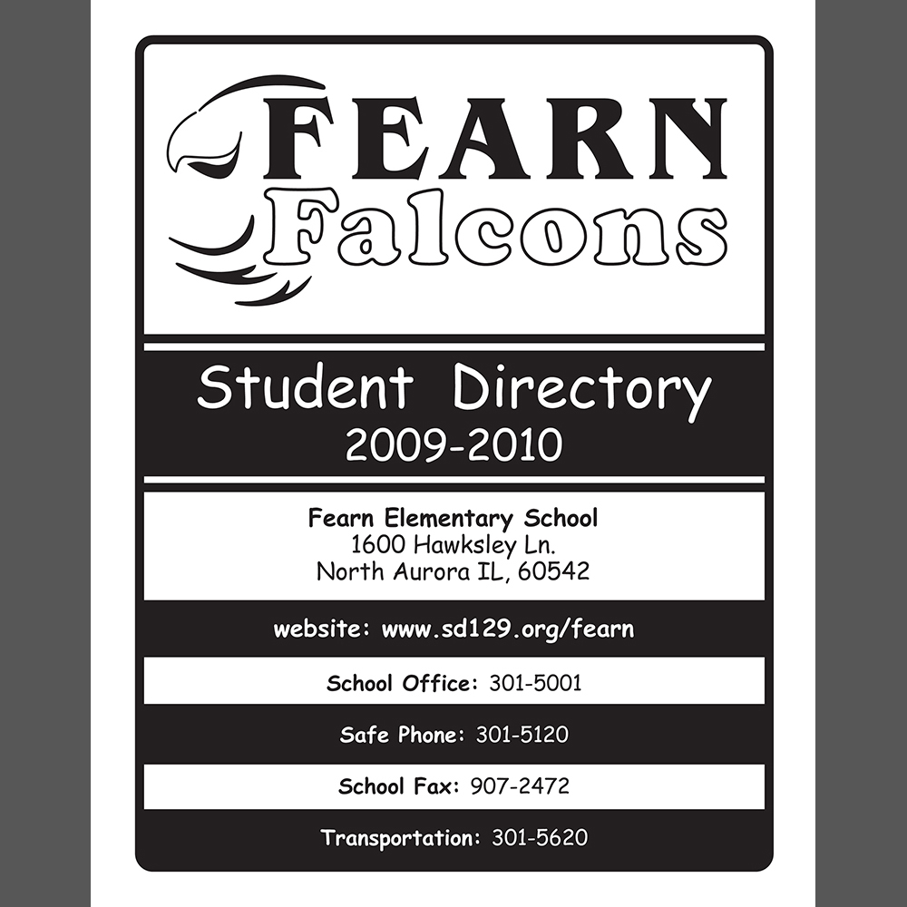 Student Directory Cover